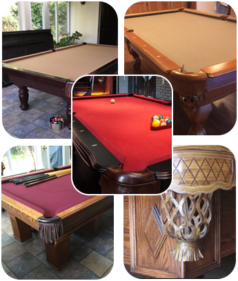 Pool Table Repairs PingPong Conversion Tops Langley BC - Pool table felt repair near me